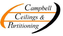 Campbell Ceilings and Partitioning | CCP Team Logo